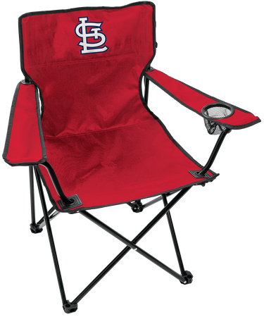 MLB St. Louis Cardinals Gameday Elite Quad Chair