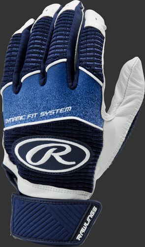 A navy WH950BG-N adult Workhorse batting glove