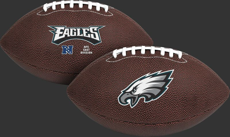 NFL Philadelphia Eagles Air-It-Out youth football with team name and logo SKU #08041080121