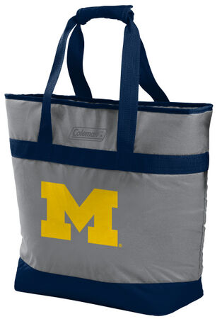 NCAA Michigan Wolverines 30 Can Tote Cooler