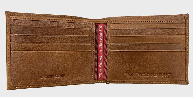 Debossed Stitch Bi-Fold Wallet