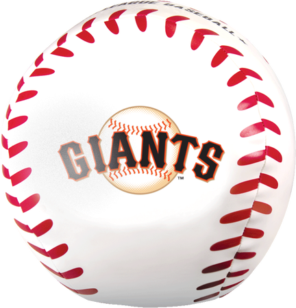 MLB San Francisco Giants Big Boy 8 in Softee Baseball
