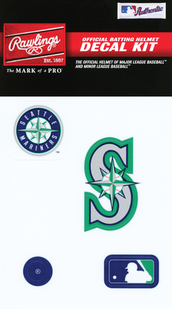 MLB Seattle Mariners Decal Kit