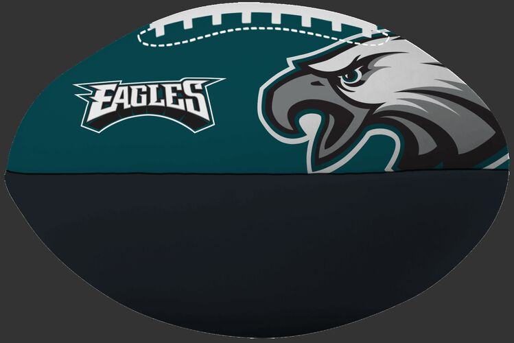 NFL Philadelphia Eagles Big Boy softee football printed in team colors and featuring team logos SKU #03211080111