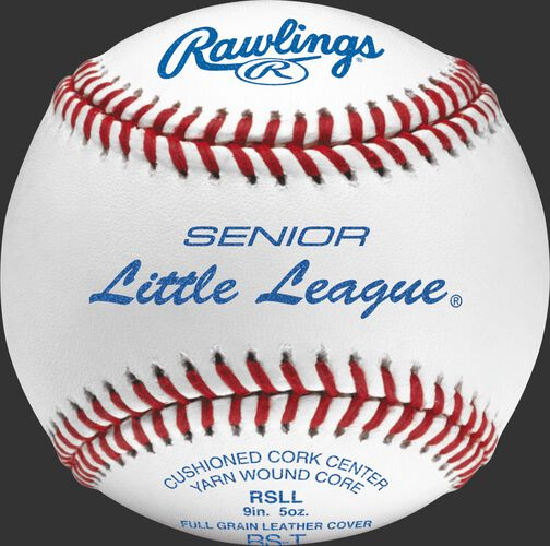 RSLL Senior League youth tournament grade baseball with raised seams