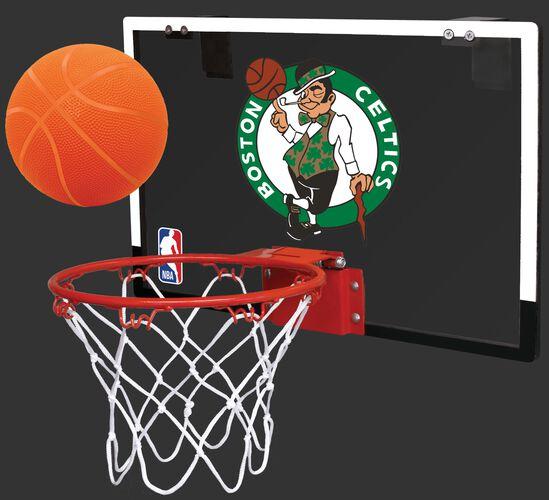 Rawlings NBA Boston Celtics Game On Hoop with Team Logo On Backboard SKU #00664193111