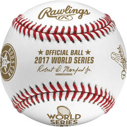 Dozen MLB 2017 World Series Dueling Baseball