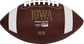 Brown NCAA Iowa Hawkeyes Football With Team Name SKU #04623075811 image number null