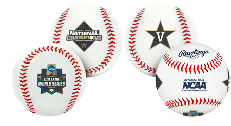 2019 NCAA Vanderbilt Commodores College World Series Champions baseball
