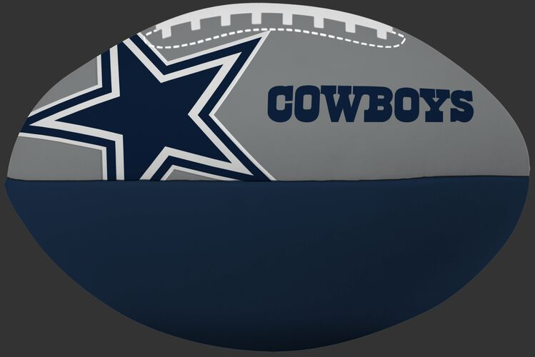 NFL Dallas Cowboys Big Boy softee football in team colors and with the team logo and team name SKU #03211065111