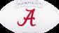 White NCAA Alabama Crimson Tide Signature Series Football With Team Logo SKU #05733066121 image number null