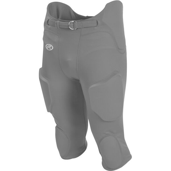 Youth Lightweight Football Pants Stone Gray