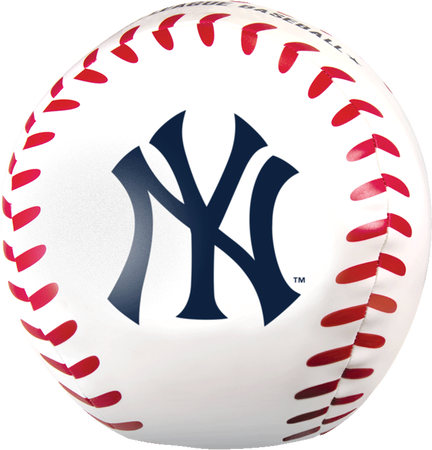 MLB New York Yankees Big Boy 8 in Softee Baseball