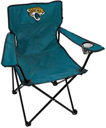NFL Jacksonville Jaguars Gameday Elite Chair with team colors and logo on the back