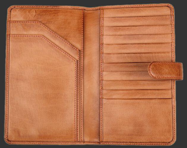 Baseball Stitch Passport Wallet