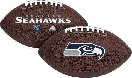 NFL Seattle Seahawks Air-It-Out youth football with team logo