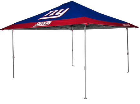 NFL New York Giants 10x10 eaved canopy in team colors