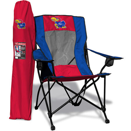 NCAA Kansas Jayhawks High Back Chair