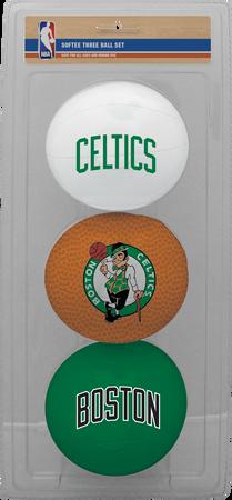 NBA Boston Celtics Three-Point Softee Basketball Set