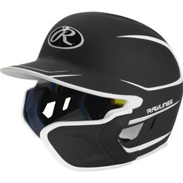 Mach Senior Two-Tone Matte Helmet with EXT Flap