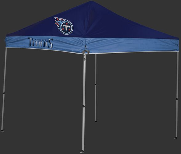 Rawlings Blue and Navy NFL Tennessee Titans 9x9 Canopy Shelter With Team Logo and Name SKU #03231069111