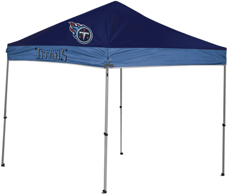 NFL Tennessee Titans 9x9 shelter with 4 team logos