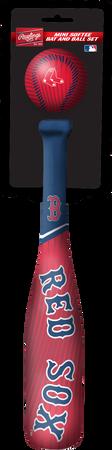 MLB Boston Red Sox Slugger Softee Mini Bat and Ball Set