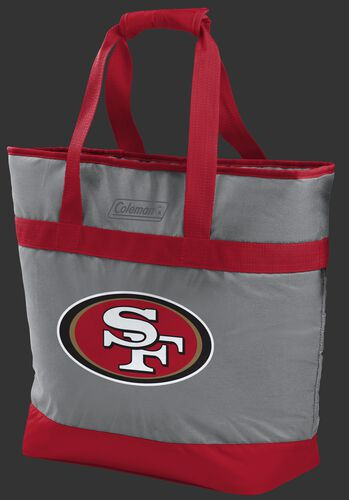 Rawlings San Francisco 49ers 30 Can Tote Cooler In Team Colors With Team Logo On Front SKU #07571084111