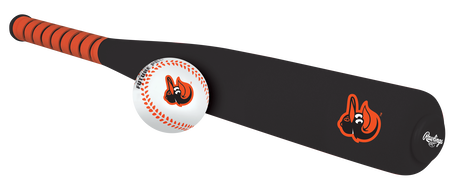 MLB Baltimore Orioles Foam Bat and Ball Set
