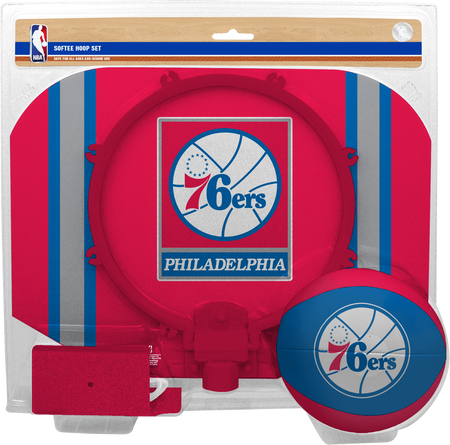 NBA Philadelphia 76ers Softee Hoop Set