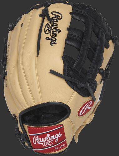 SPL112BC Brandon Crawford Select Pro Lite youth glove with a camel back