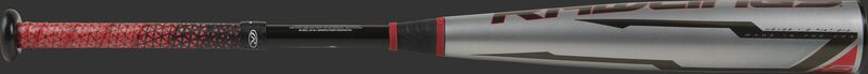 A gray barrel on a Rawlings USA Quatro Pro bat - SKU: US1Q8