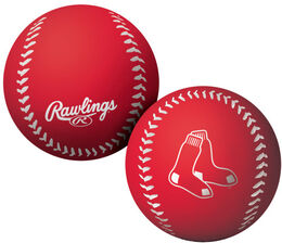 MLB Boston Red Sox Big Fly Rubber Bounce Ball