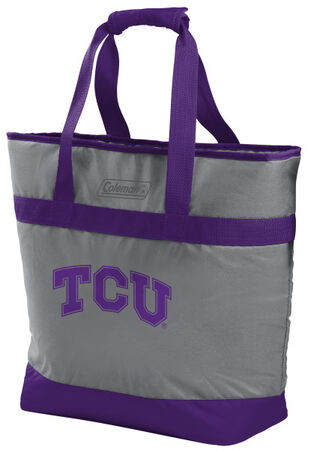 NCAA TCU Horned Frogs 30 Can Tote Cooler