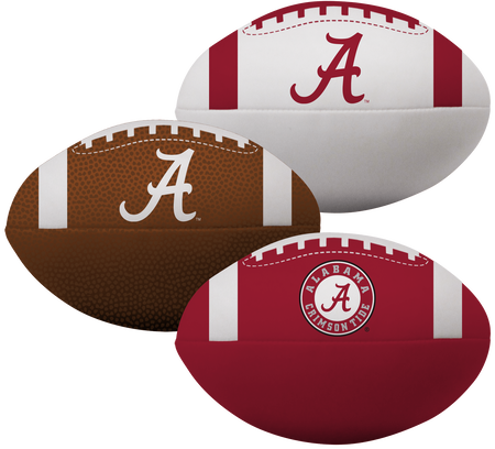 NCAA Alabama Crimson Tide 3 Softee Football Set