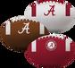 NCAA Alabama Crimson Tide 3 Softee Football Set