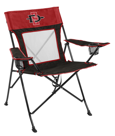 NCAA San Diego State Aztecs Game Changer chair with the team logo