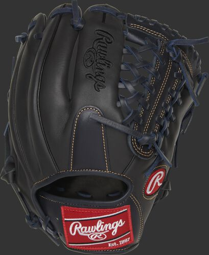 GXLE204-4DS 11.5-inch Gamer XLE Modified Trap-Eze web glove with a dark shadow back