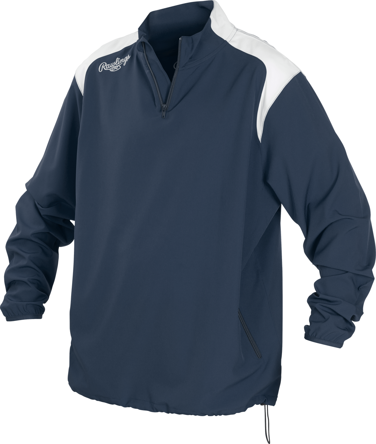 Details about  /NWT Rawlings Athletic Active Wear Performance Quarter Zip Sweatshirt Pullover