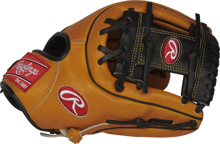 Thumb of a rich tan PROS315-2RTBP 11.75-inch Pro Preferred infield glove with a black I-web