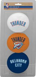 NBA Oklahoma City Thunder Three-Point Softee Basketball Set