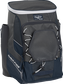 Front left angle of a navy Rawlings Impulse bag with gray accents - SKU: IMPLSE-N image number null