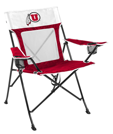 NCAA Utah Utes Game Changer chair with the team logo