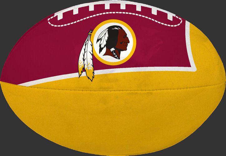 Burgundy and Gold NFL Washington Redskins Football With Team Logo SKU #07831087114