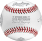 An official NLCS19DL 2019 National League Championship Series dueling baseball with the league commissioner's signature image number null