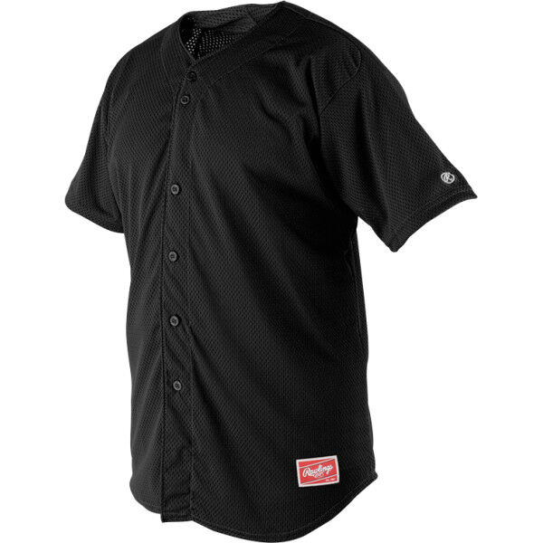 Youth Short Sleeve Jersey Black