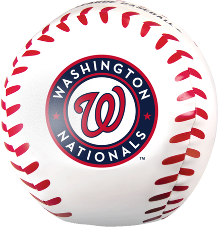 MLB Washington Nationals Big Boy 8 in Softee Baseball