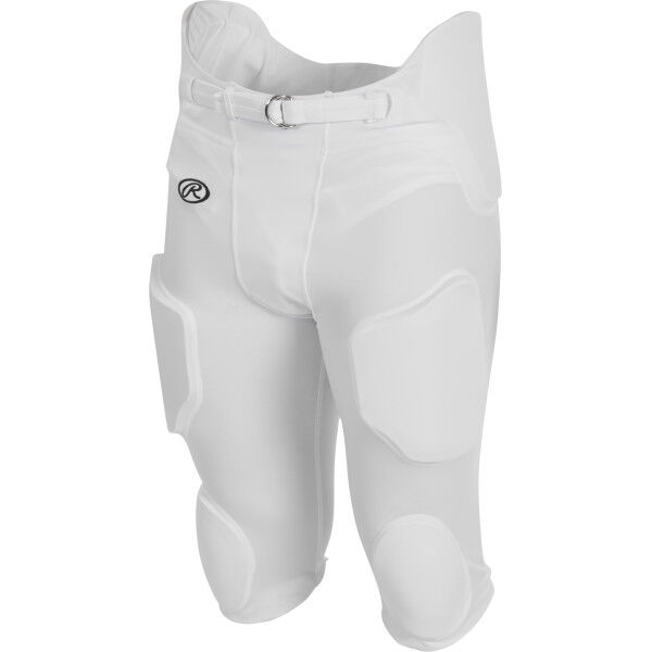Adult Lightweight Football Pants White