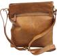 Women's Baseball Stitch Crossbody Bag | Tan image number null