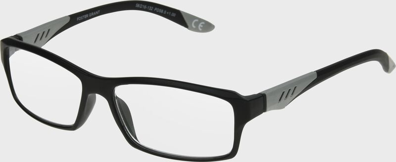 Rawlings full frame reading glasses with a black/grey frame